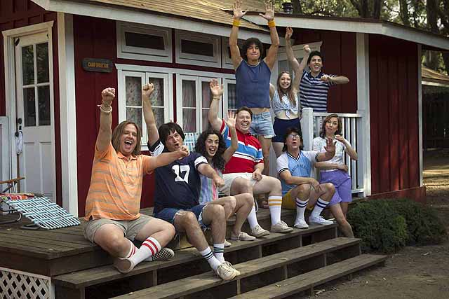 """Netflix is welcoming you back to Camp Firewood, where the counselors look just a wee bit older than they did last year, as they reveal the first images from their upcoming """"Wet Hot American Summer: First Day of Camp."""""""