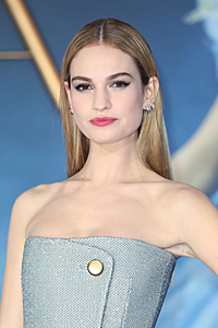 Cinderella Star Lily James Joining Edgar Wright's Baby Driver