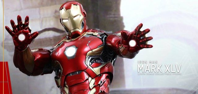 Avengers: Age of Ultron – Hot Toys 1/6th Scale Iron Man Mark XLV Figure Revealed