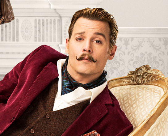 Hitting this week on DVD and Blu-ray is the comic caper Mortdecai, starring Johnny Depp.