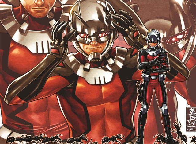 Scott Lang is currently headlining his own Ant-Man comic for Marvel with a slightly redesigned costume. It's lightyears ahead of the last redesign.