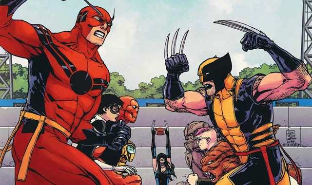 Avengers Academy would be neat to see in some Ant-Man scenes.