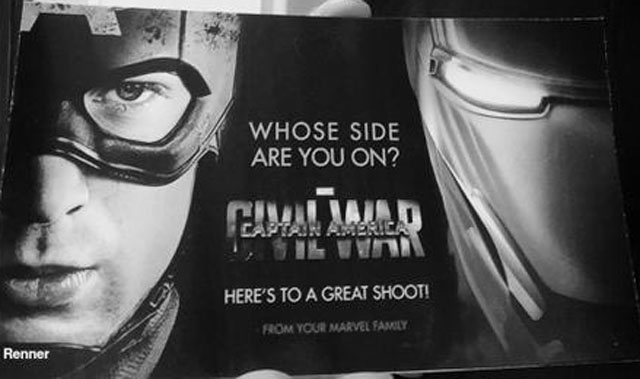 """A Civil War promo image asks, """"Whose side are you on?"""""""