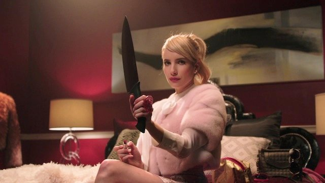Emma Roberts is one of the stars of FOX's upcoming Scream Queens. Find out even more info in our list of Fox's Comic-Con 2015 TV Panels.