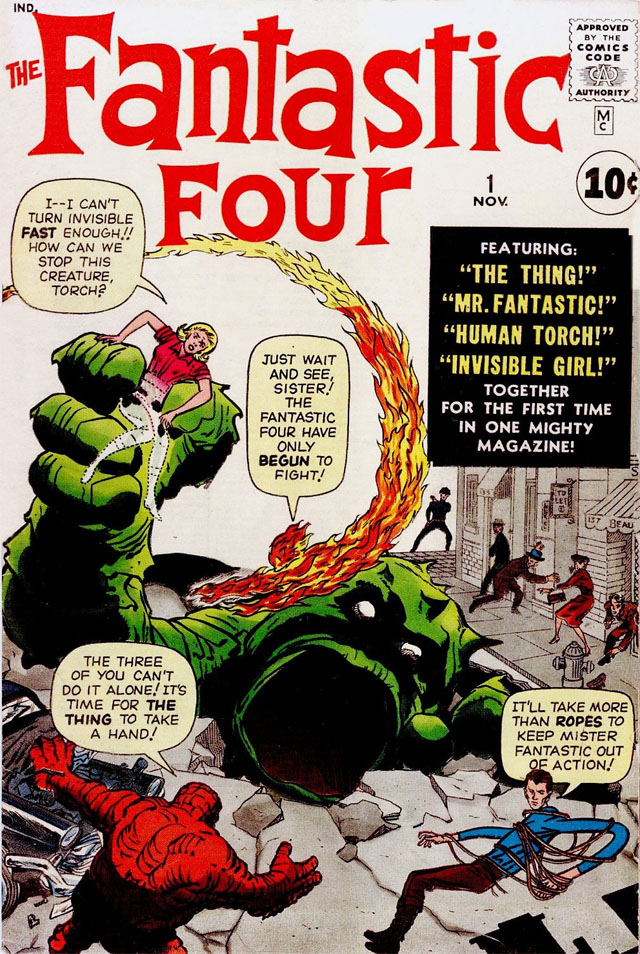 This Fantastic Four trivia entry represents the birth of the age of Marvels.