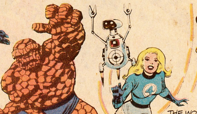 Herbie gets his own Fantastic Four trivia section!