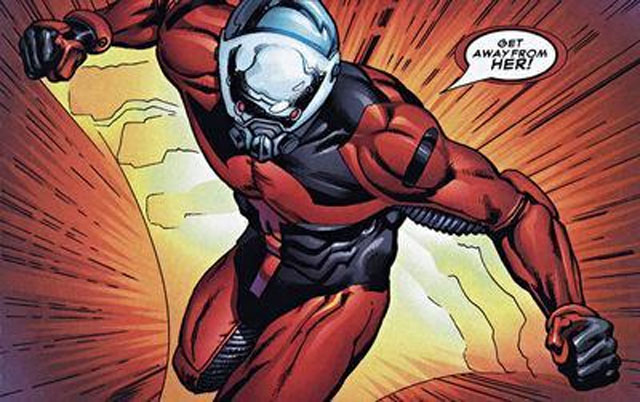 In the early 2000s, Marvel saw fit to give Scott Lang's Ant-Man a modern update. The result was this hideous costume that he wouldn't be caught dead in. Except he totally was.