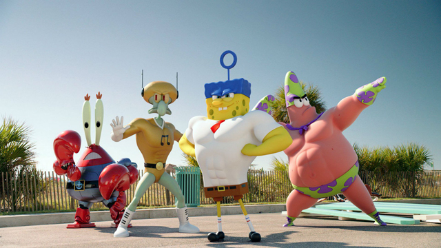 SpongeBob is back this week on DVD and Blu-ray!
