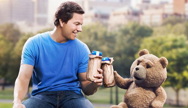 This Ted 2 red band trailer opens with a Star Wars joke.