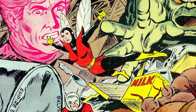 Will we see any Ant-man scenes featuring the Wasp?