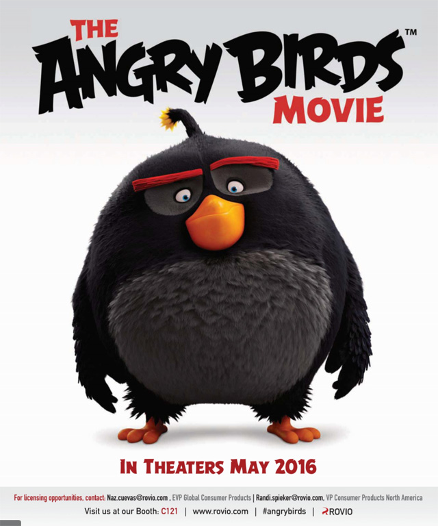"""Written by """"The Simpsons"""" alum Jon Vitti and directed by Fergal Reilly and Clay Kaytis, the Angry Birds movie is set to debut in the US on May 20, 2016."""