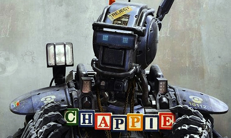 Chappie is just one of the exciting titles hitting this week on Blu-ray and DVD!