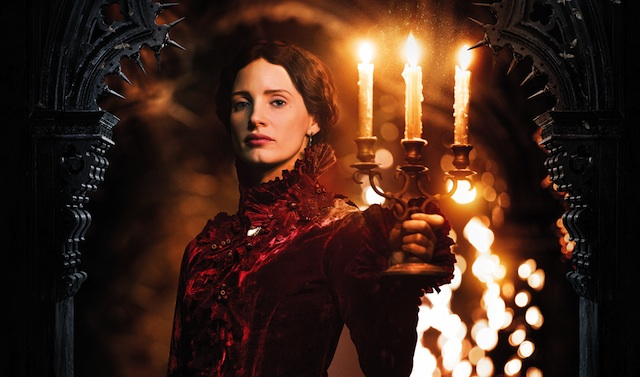 Jessica Chastain gets her own Crimson Peak character poster!