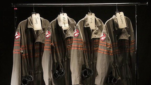 The Ghostbusters costumes have arrived!