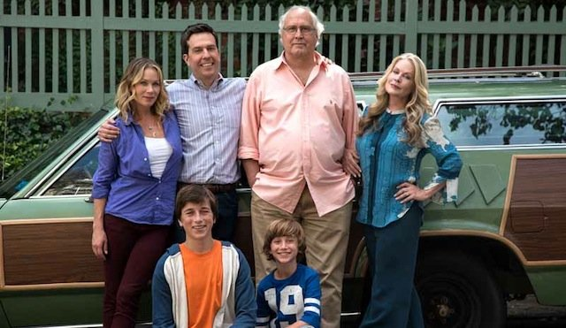 The Griswolds hit the road in the new Vacation trailer!