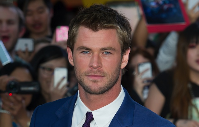 Chris Hemsworth will play the new Ghostbusters receptionist.