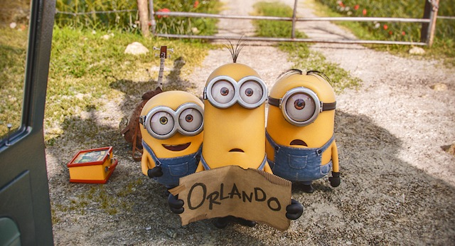 The Minions hitch a ride in a new clip from the upcoming Despicable Me spinoff.