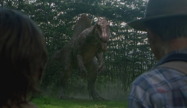 The Spinosaurus is another element of the bigger Jurassic World story.