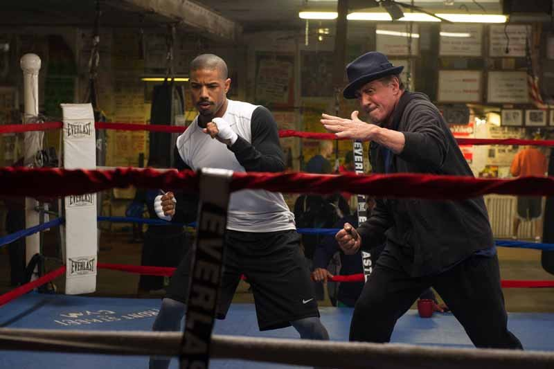 Watch the Creed trailer for a look at the upcoming Rocky spinoff.