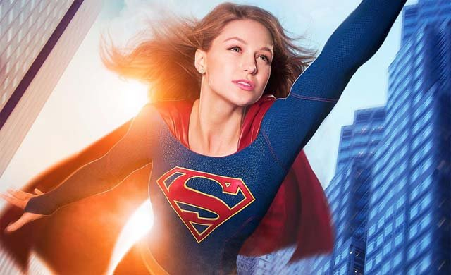 Check out Melissa Benoist on a new Supergirl poster.
