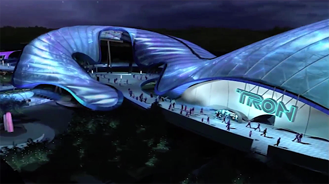 TRON Ride and More Previewed for Shanghai Disneyland.
