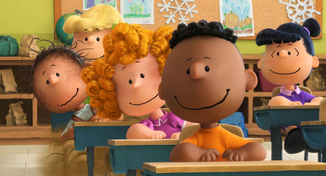 Franklin Takes Center Stage in a New Peanuts Movie TV Spot