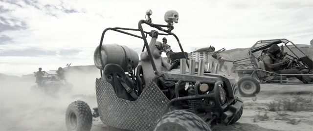 Mad Max GoKart Paintball War Takes You Down the Fury Road to Fun.