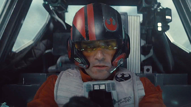 Oscar Isaac is an important part of the Star Wars: The Force Awakens cast.