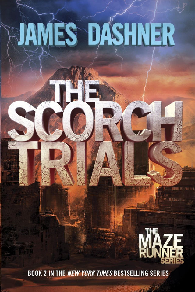 The Scorch Trials is where the Maze Runner series continues.