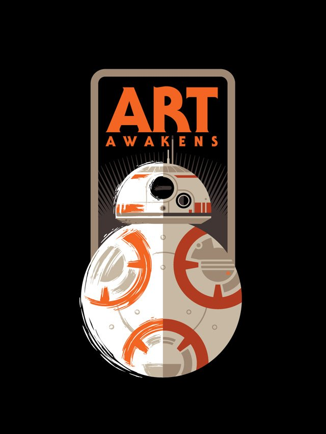 In celebration of Star Wars: The Force Awakens, Lucasfilm and HP proudly present Art Awakens.