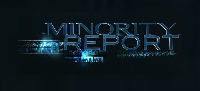 Take a look at a new Minority Report poster.