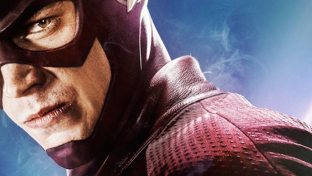 Barry Allen is fast and furious on a new The Flash season two poster.