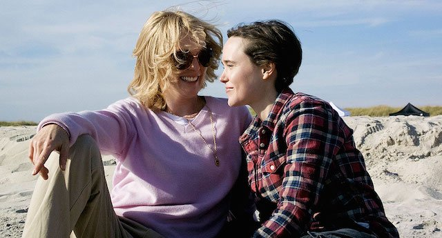 Interview with Freeheld stars Julianne Moore, Ellen Page and Michael Shannon.