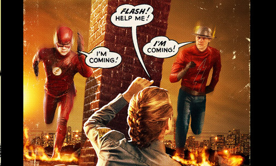 Check out an extended look at the return of the new CW series with an extended Flash season two trailer.
