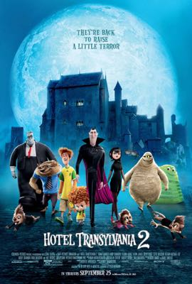 The Weekend Warrior on Hotel Transylvania 2, The Intern and Everest