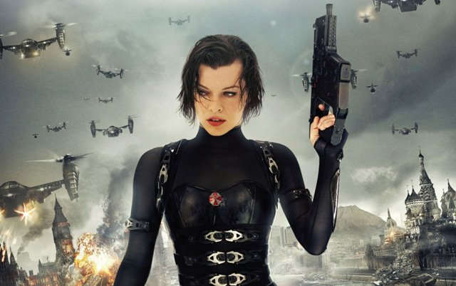More Milla Jovovich Photos From The Set Of Resident Evil The