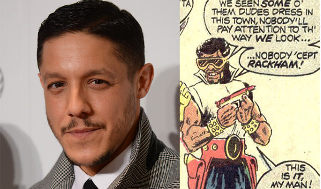 The Marvel's Luke Cage cast also includes Theo Rossi.