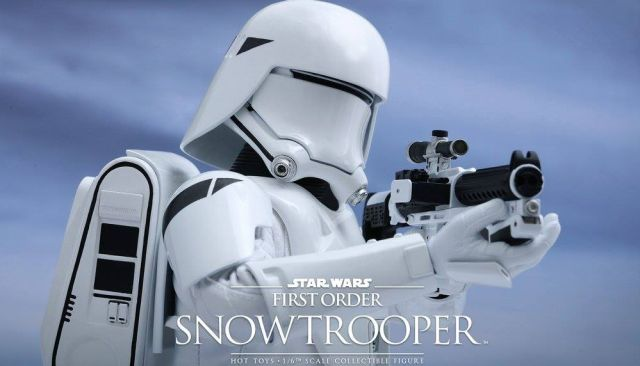 Snowtrooper Hot Toys Figures for Star Wars: The Force Awakens.