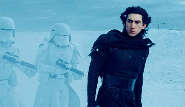 Adam Driver will play Kylo Ren, the villain of the Star Wars: The Force Awakens cast.