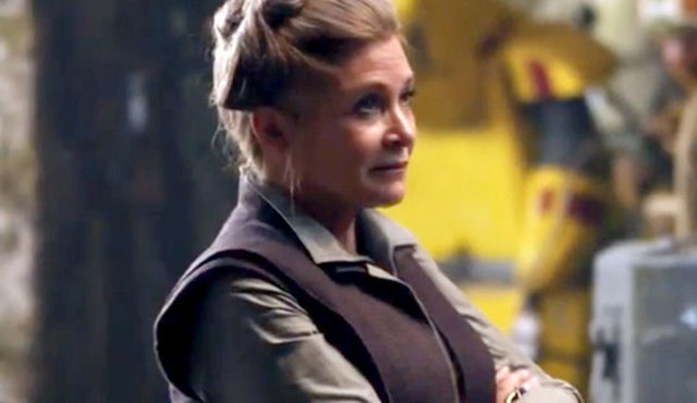 Carrie Fisher will be back as Leia in the Star Wars: The Force Awakens cast.