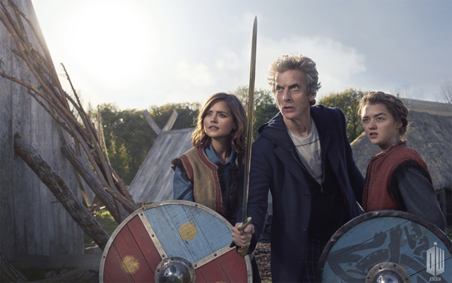 Maisie Williams in a New Clip and Photos from Doctor Who.