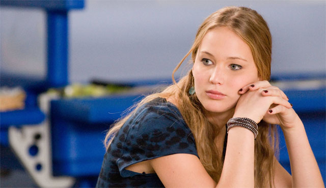 One of the earlier Jennifer Lawrence movies is Jodie Foster's The Beaver.