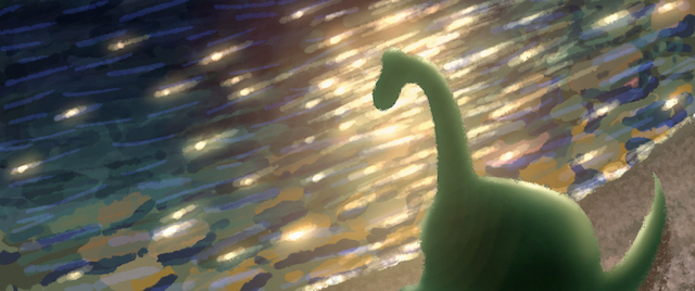 The river is another big part of The Good Dinosaur story.