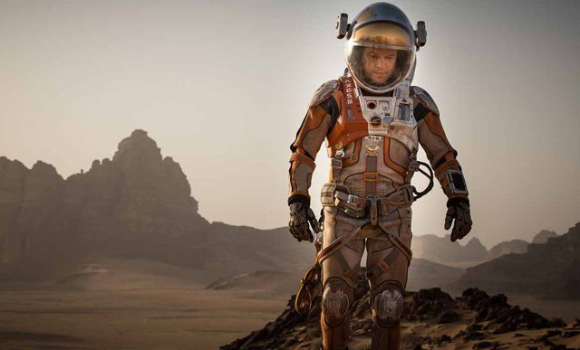 Box Office: The Martian Comes Close to Breaking Gravity's October Opening.