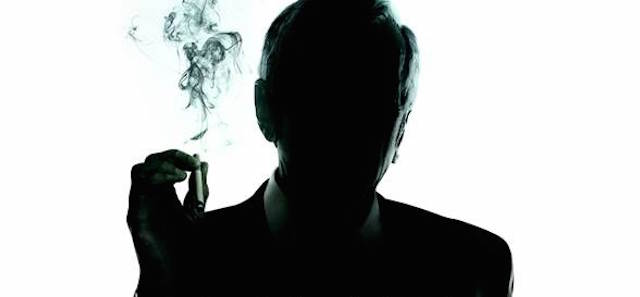 A new X-Files poster features the Cigarette Smoking Man.