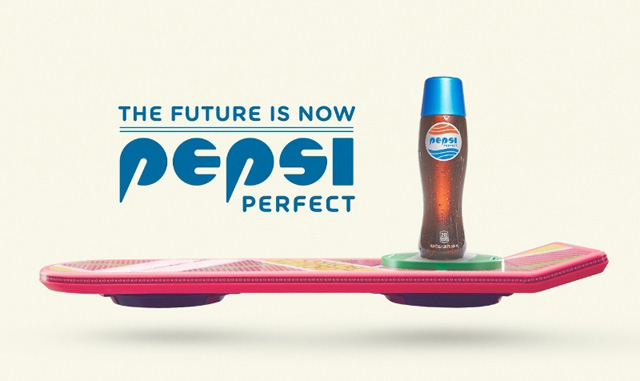 Back to the Future Part 2's Pepsi Perfect is Here! Watch the Commercial!