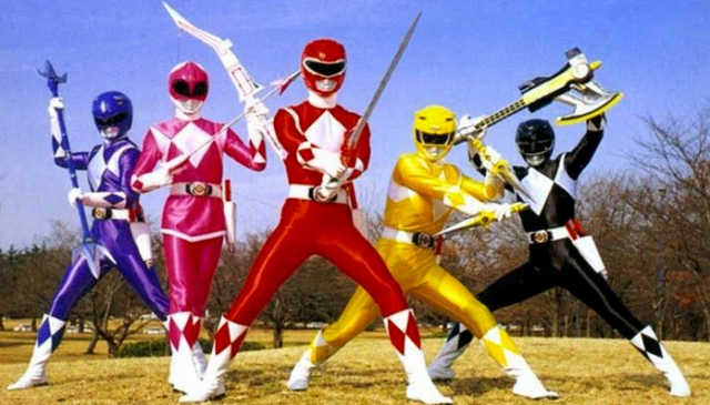 Power Rangers Movie Will Use Classic Character Names.