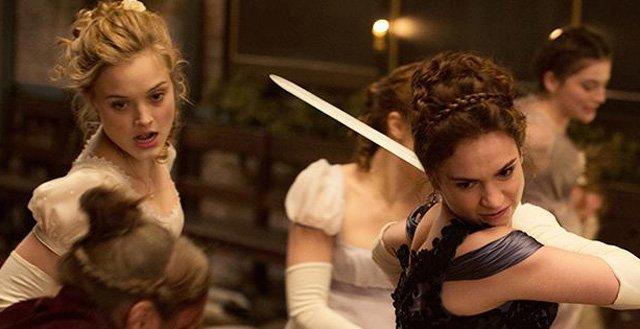 A Fun and Sexy and Violent New Pride and Prejudice and Zombies Trailer.