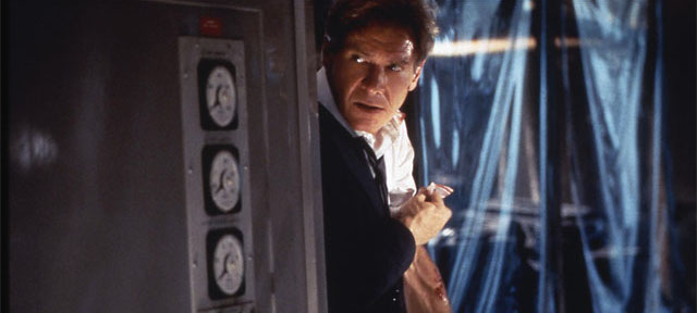 Air Force One is another one of the best Harrison Ford movies.