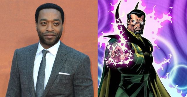 First Photo of Chiwetel Ejiofor as Baron Mordo on the Set of Doctor Strange.
